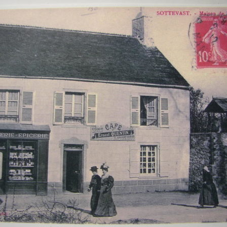 Epicerie Quentin 1912