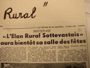 Inauguration Elan Rural