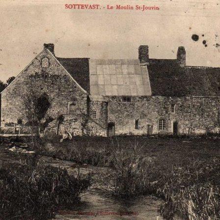 Le moulin de St Jouvin 1908