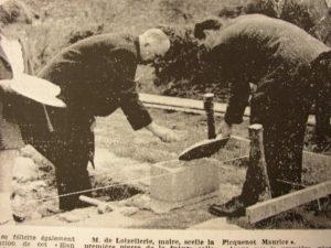 Pose 1ere pierre Elan Rural